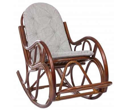 Кресло-качалка Classic с подушкой коньякКресла-качалки<br><br>