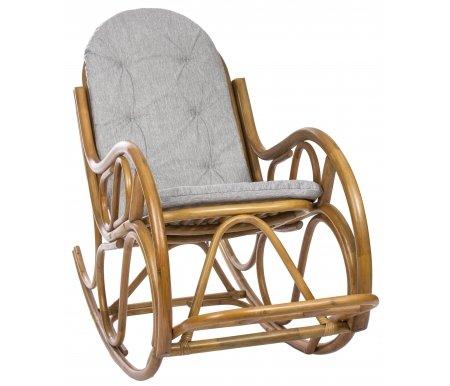 Кресло-качалка Classic с подушкой золотой медКресла-качалки<br><br>