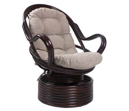 Кресло-качалка Davao с подушкой орехКресла-качалки<br>Ширина сиденья:50 см.<br>Высота сиденья:45 см.<br><br>Высота спинки:80 см.<br>