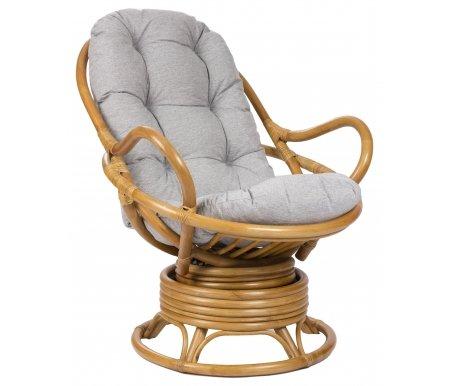 Кресло-качалка Swivel Rocker с подушкой золотой медКресла-качалки<br><br>