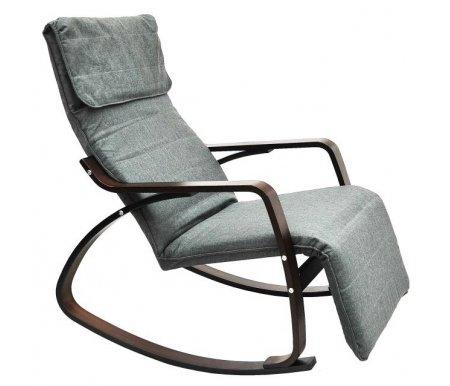 Кресло-качалка TXRC-02Кресла-качалки<br>Каркас сделан измногослойного клееного березового шпона толщиной 6 см.<br> <br> <br>  <br> <br> Кресло имеет подножку, которая в поднятом состоянии превращает кресло в шезлонг. Сиденье и спинка: каркас, обтянутый тканью, внутри поролон. <br> <br>  <br> <br> <br>Высота в самом низком положении: 110 см.<br> <br>Высота в самом высоком положении: 127 см.<br> <br>Ширина сиденья: 55 см.<br> <br>Глубинасиденья: 50 см.<br> <br>Высотасиденья:40 см.<br> <br>Высота спинки: 70 см.<br> <br> <br>  <br> <br> <br>Обьем: 0,13 м3.<br>