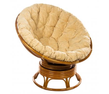 Кресло механическое Papasan  23/01В ККресла-качалки<br>Встроенный механизм кресла позволяет равномерно покачиваться или поворачиваться.<br>