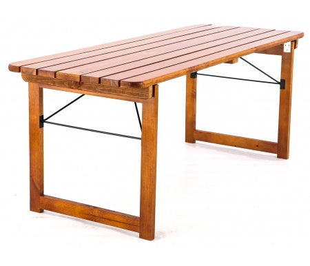 Купить Деревянный стол Фотон, Бирфест складной, Россия, орех