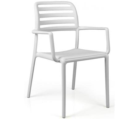 Купить Пластиковое кресло Nardi, Costa белое, Италия, белый