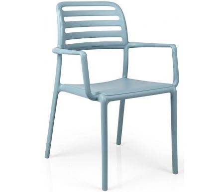 Купить Пластиковое кресло Nardi, Costa голубое, Италия, голубой