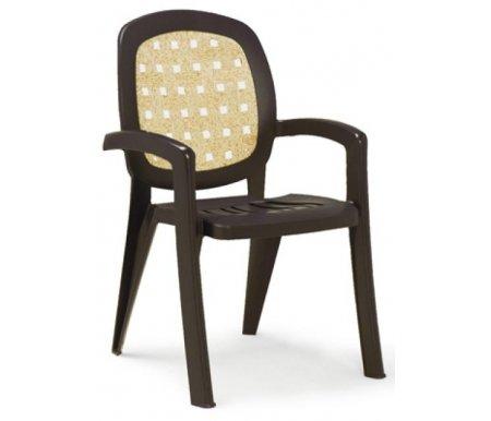 Купить Пластиковое кресло Nardi, Lesena кофе / бежевое, Италия, кофе, бежевый