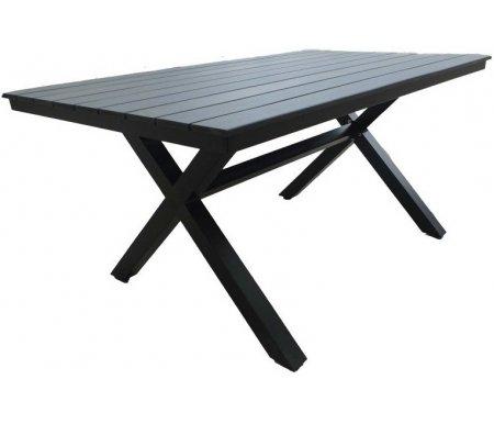 Купить Металлический стол Joygarden, Aroma 150 см черный, Китай