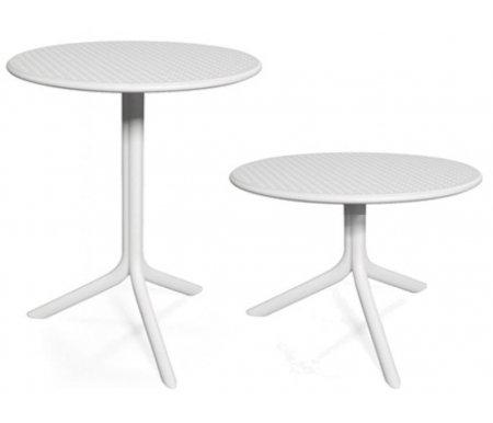 Купить Пластиковый стол Nardi, Step + Step Mini белый, Италия