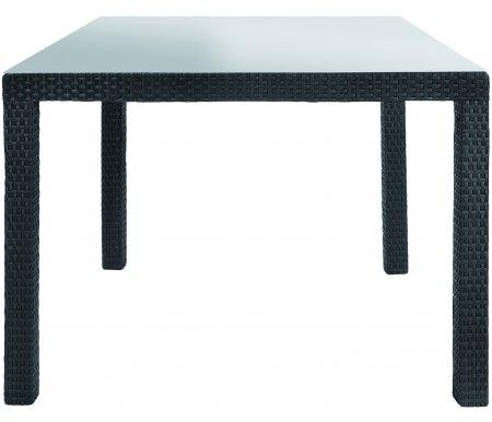 Стол HoronПластиковые столы<br>Стол сделан из пластика, имитированный под искусственный ротанг.<br>