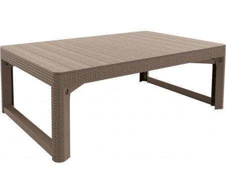 Купить Стол Keter, Lyon rattan table 17202805 капучино, Израиль