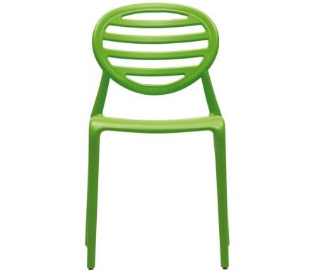 Купить Пластиковый стул Scab design, Top Gio зеленый, Италия