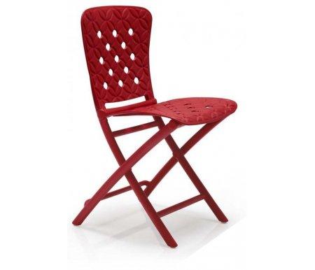 Купить Пластиковый стул Nardi, Zic-Zac Spring красный, Италия