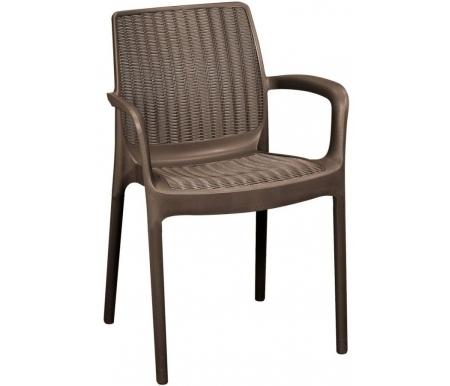 Стул OttoПластиковые стулья<br>Стул сделан из прочного погодостойкого пластика с имитацией под плетение искусственного ротанга.<br>