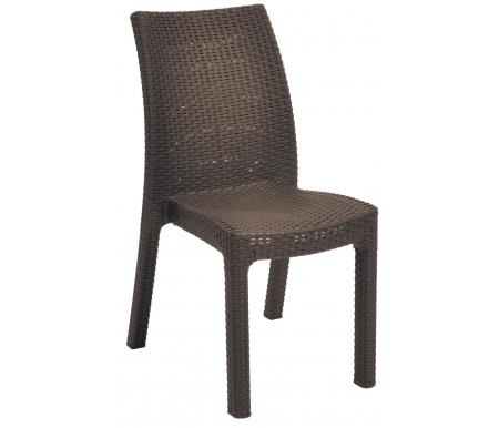 Стул VilhelmПластиковые стулья<br>Стул сделан из прочного погодостойкого пластика с имитацией под плетение искусственного ротанга.<br>