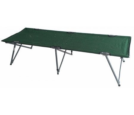 Складная кровать ThibautРаскладные кровати<br>Диаметр стальной трубы каркаса: 22 / 16 / 16 х 25 мм.<br>Материал: полиэстер 600D c поливиниловым покрытием.<br>Чехол в комплекте.<br>