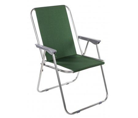 Кресло складное Турист XLШезлонги<br>Складное кресло на каркасе из стали (диаметр трубы 18 мм), с сидением из полиэстера.<br> <br>Прекрасный выбор для отдыха на природе. Складная конструкция делает это кресло практичным.<br> <br>Максимально допустимая нагрузка: 80 кг.<br><br>Длина: 53 см<br>Ширина: 46 см<br>Высота: 78 см<br>Материал: сталь, ткань<br>Цвет: темно-синий, зеленый<br>Вес: 2,5 кг