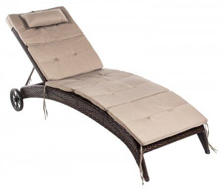 Купить Подушка Бестафиеста, для лежака MONACO, светло-бежевый, полиестер