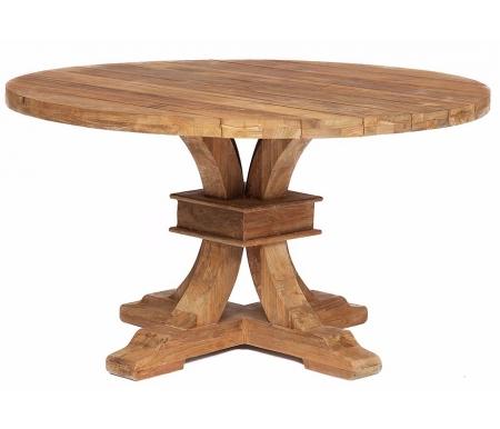 Купить Стол обеденный Тетчер, Secret De Maison Romano 140 х 140 х 78 см натуральный, Индонезия