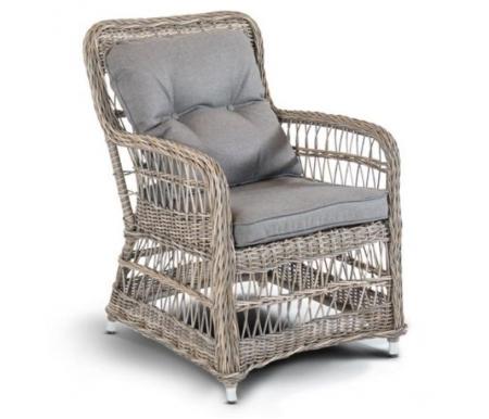 Купить Кресло 4sis, из ротанга Martin, серо-соломенный