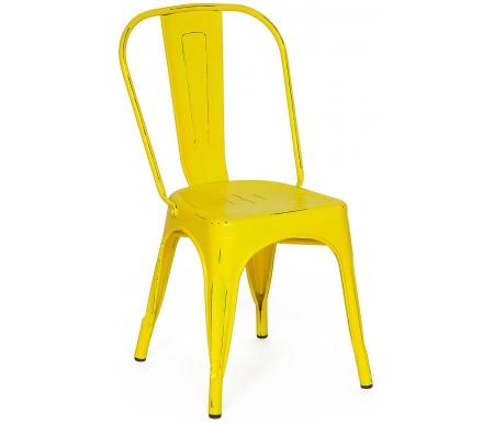 Купить Металлический стул Тетчер, Secret De Maison Loft Chair mod. 012 желтый / yellow vintage, Китай