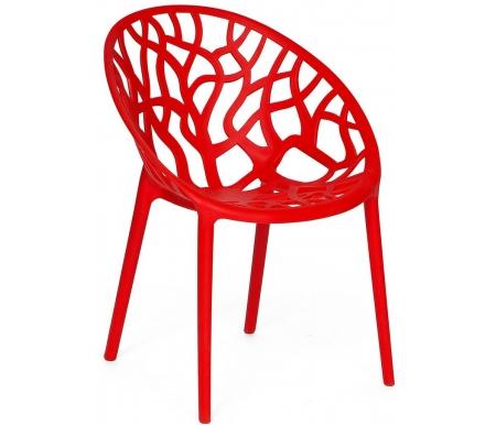 Купить Пластиковый стул Тетчер, Secret De Maison Bush mod. 017 красный, Китай