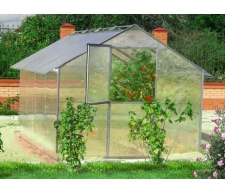 Купить Теплица Воля, Дельта со сдвижной крышей 4, 4 м без покрытия