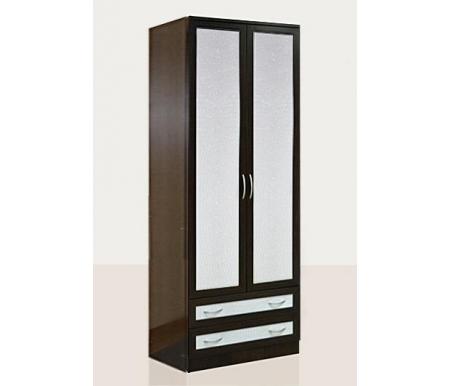 Купить Шкаф двухдверный Диал, Кэт — 1 Caiman VR14 венге / caiman белый