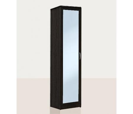 Купить Шкаф-пенал Диал, Кэт — 1 Caiman VR08G с зеркалом венге