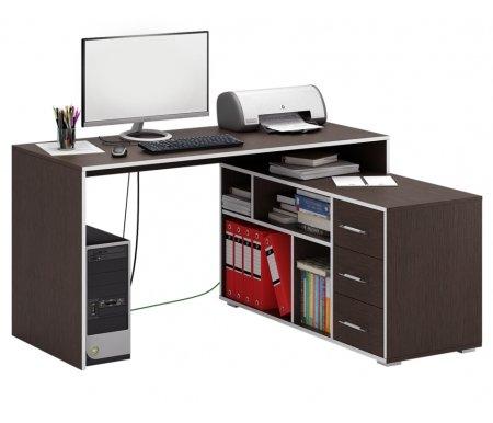 Компьютерный стол Краст-2 МСТ-УСК-02-##-16-ПР правый венгеКомпьютерные столы<br>Выдвижные ящики на роликовых направляющих.<br><br>  <br><br><br>Срок изготовления - 7 рабочих дней!<br>