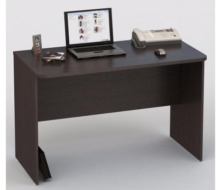 Компьютерный стол КС 20-36Компьютерные столы<br>Компьютерный стол КС 20-36 подойдет как для письма, так и для работы за компьютером или ноутбуком. Демократичный вариант для офиса и дома по оптимальной цене.<br><br>Длина: 120 см<br>Ширина: 60 см<br>Высота: 77 см<br>Материал: ЛДСП<br>Цвет: венге<br>Вес: 32 кг