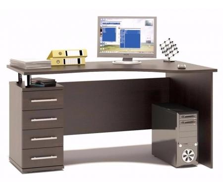 Купить Компьютерный стол Сокол, КСТ-104.1 левый венге, венге / венге / венге