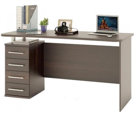 Купить Компьютерный стол Сокол, КСТ-105.1 Венге, Дуб Венге