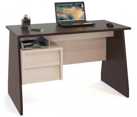 Купить Компьютерный стол Сокол, КСТ-115 венге / беленый дуб, Россия