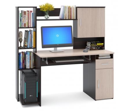 Купить Компьютерный стол Сокол, КСТ-11.1 Венге / Беленый дуб, венге / беленый дуб
