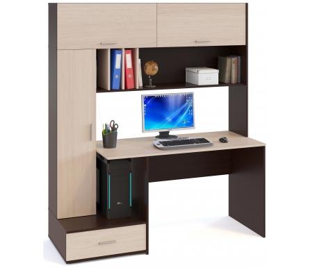 Купить Компьютерный стол Сокол, КСТ-17 венге / беленый дуб, Россия