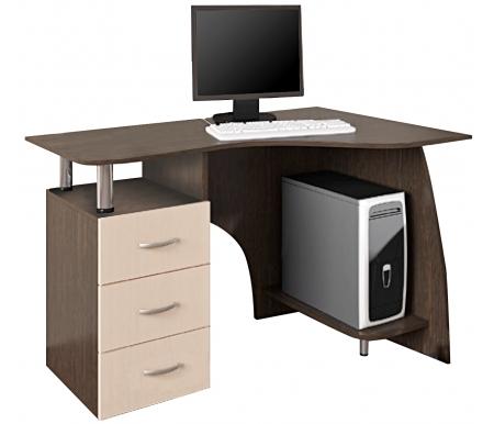 Купить Компьютерный стол БТС-мебель, Лорд венге / лоредо