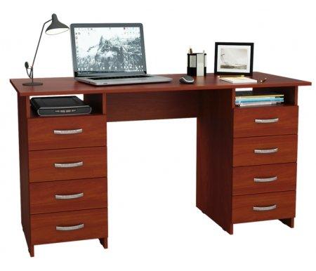 Компьютерный стол Милан-10 МСТ-СДМ-10-##-16 итальянский орехКомпьютерные столы<br>Все ящики на роликовых направляющих.<br>