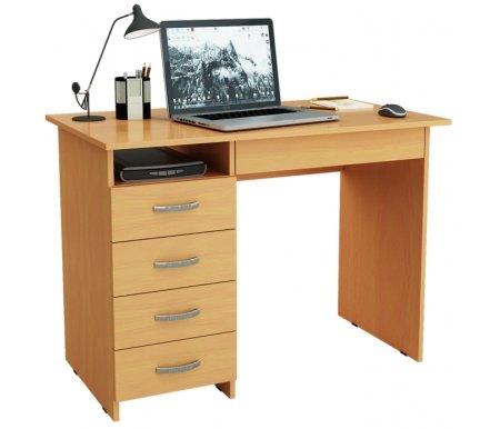 Компьютерный стол Милан-1 МСТ-СДМ-01-##-16 букКомпьютерные столы<br>Ящики на роликовых направляющих.<br>