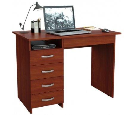 Компьютерный стол Милан-1 МСТ-СДМ-01-##-16 итальянский орехКомпьютерные столы<br>Ящики на роликовых направляющих.<br>