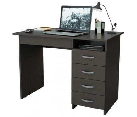 Компьютерный стол Милан-1 МСТ-СДМ-01-##-16-ПР венгеКомпьютерные столы<br>Ящики на роликовых направляющих. Эту модель можно приобрести как с ящиками с правой стороны, так и с левой.<br>