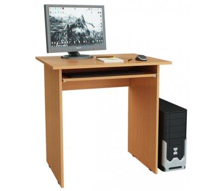 Компьютерный стол Милан-2 МСТ-СДМ-02-##-16 букКомпьютерные столы<br>Полка для клавиатуры на роликовых направляющих.<br>