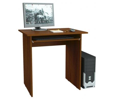 Компьютерный стол Милан-2 МСТ-СДМ-02-##-16 орехКомпьютерные столы<br>Полка для клавиатуры на роликовых направляющих.<br>
