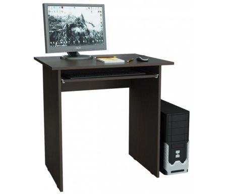 Компьютерный стол Милан-2 МСТ-СДМ-02-##-16 венгеКомпьютерные столы<br>Полка для клавиатуры на роликовых направляющих.<br>
