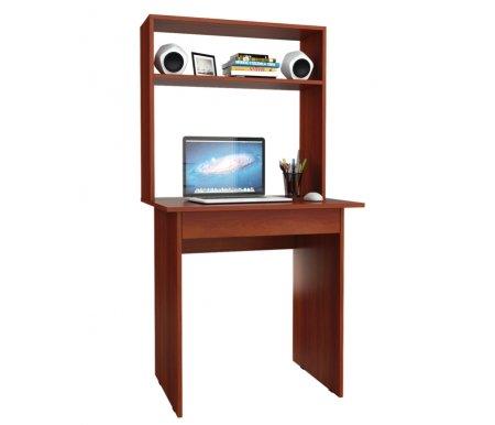 Компьютерный стол Милан-2Я МСТ-СДМ-2Я-##-16 с надставкой МСТ-НСМ-МЛ-##-16 итальянский орехКомпьютерные столы<br>Параметры надставки (В х Г х Ш): 75 см х 25 см х 76,4 см.<br>