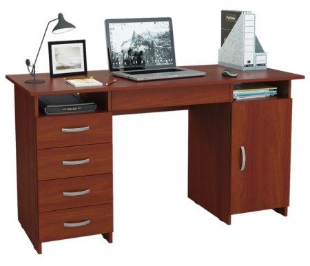 Компьютерный стол Милан-7Я МСТ-СДМ-7Я-##-16 итальянский орехКомпьютерные столы<br>Ящики на роликовых направляющих.<br>