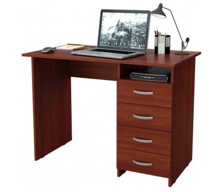 Компьютерный стол Милан МСТ-СДМ-00-##-16-ПР итальянский орех Мастер