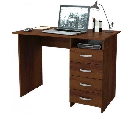 Компьютерный стол Милан МСТ-СДМ-00-##-16-ПР орех Мастер