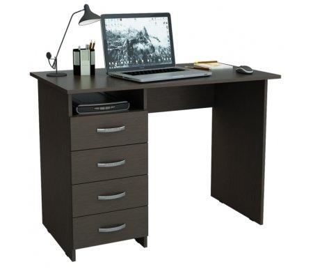 Компьютерный стол Милан МСТ-СДМ-00-##-16 венгеКомпьютерные столы<br>Все ящики на роликовых направляющих.Данную модель можно выполнить с ящиками как с правой, так и с левой стороны.<br>