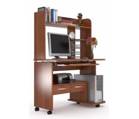 Здесь можно купить НСС 14 с надстройкой яблоня  Компьютерный стол Фабрика БИС Компьютерные столы