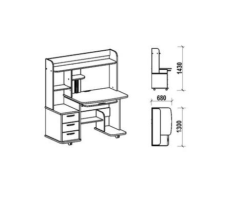 Компьютерный стол Фабрика БИС